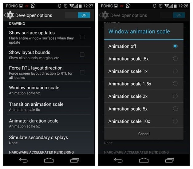 AndroidPIT Moto X Animation