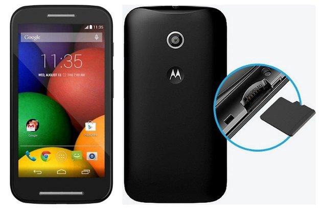 AndroidPIT MotoE microSD