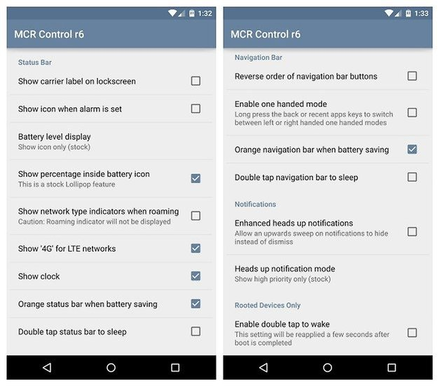 Get custom ROM features on the Nexus 5 or Nexus 6 without a custom