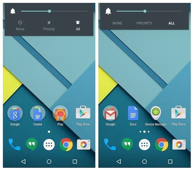 AndroidPIT Nexus 5 Android 5 1 Lollipop sound widget icons
