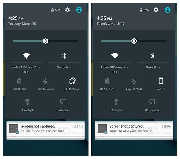 AndroidPIT Nexus 5 Android 5 1 quick settings toggle animations