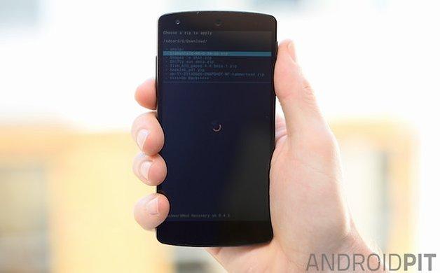 AndroidPIT Nexus 5 CWM ElementalX zip