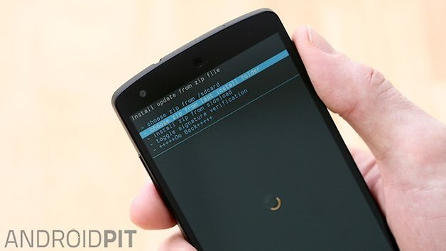 AndroidPIT Nexus 5 CWM Recovery 3
