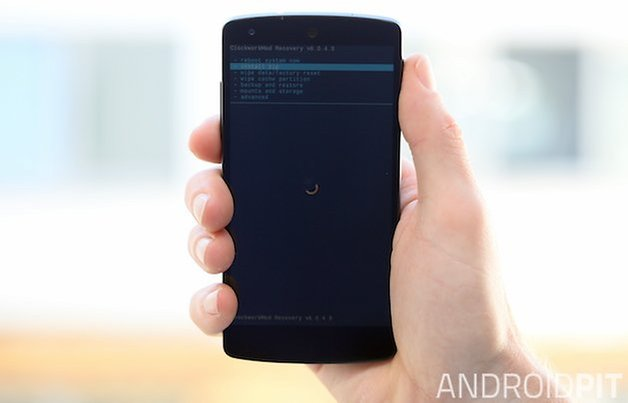 nexus 5, cwm, recovery, elementalx, kernel, flash, knock on