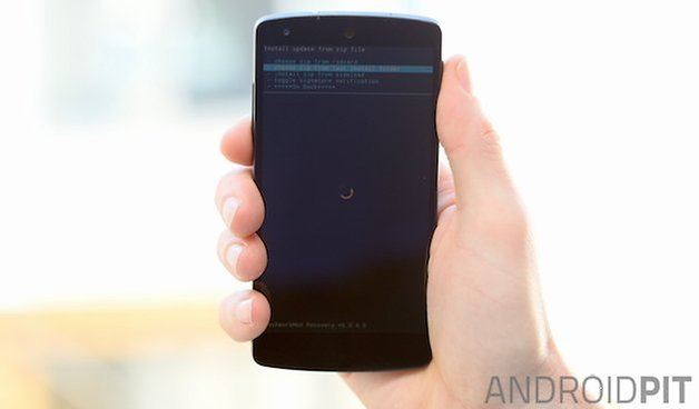 nexus 5, cwm, recovery, install, zip, elementalx, kernel, how to, flash, knock on, double tap