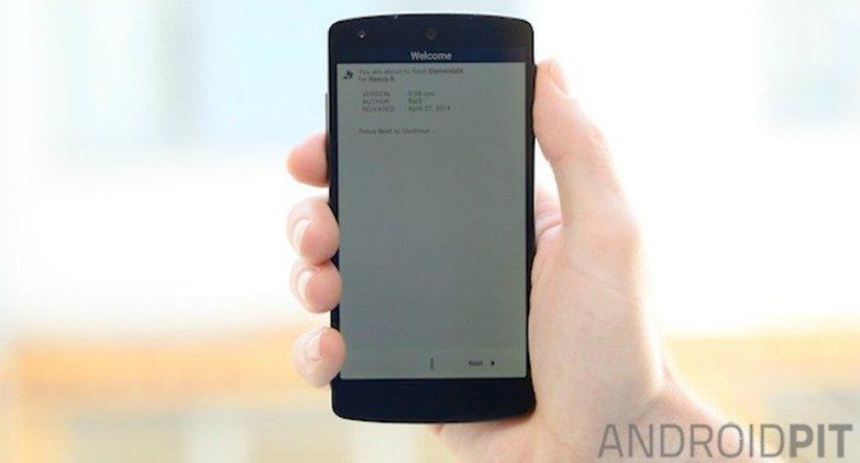 AndroidPIT Nexus 5 ElementalX Install
