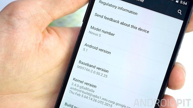 AndroidPIT Nexus 5 android 5 1 lollipop teaser