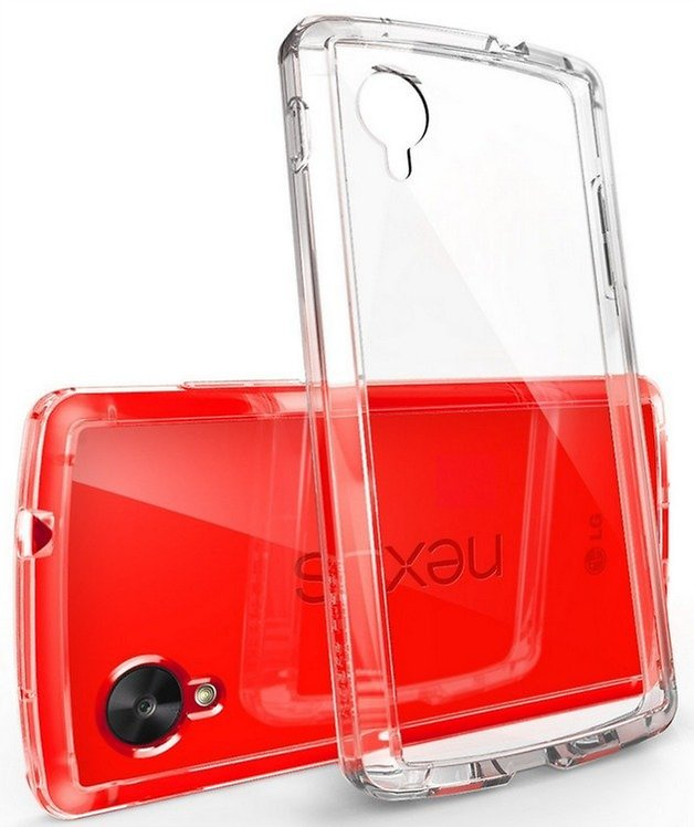 AndroidPIT Nexus 5 case Clear
