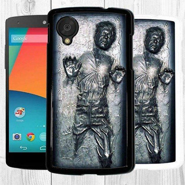AndroidPIT Nexus 5 case Han solo