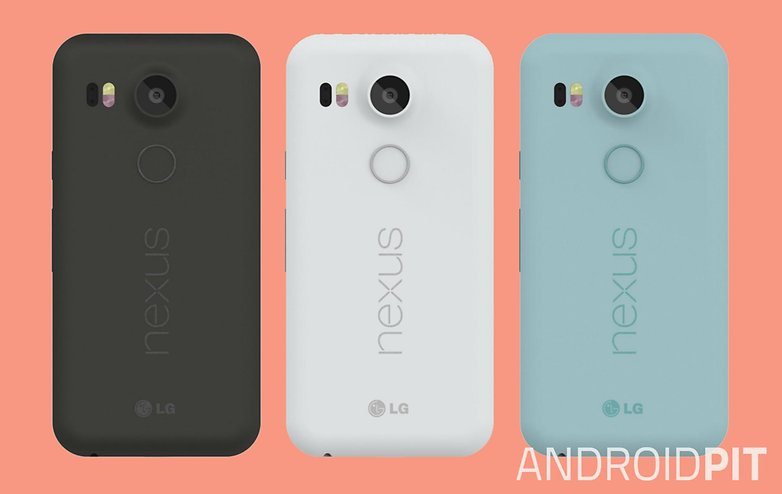 AndroidPIT Nexus 5X colors watermarked