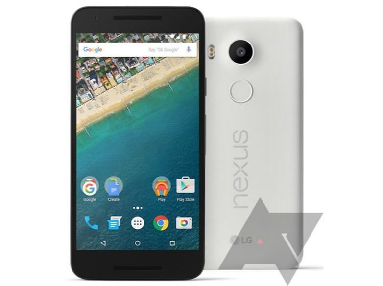 AndroidPIT Nexus 5X press render front