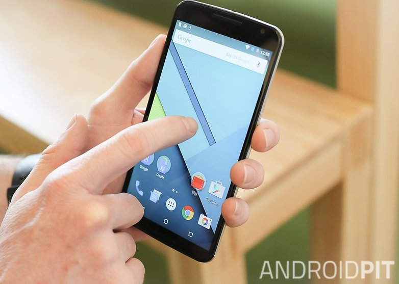 AndroidPIT Nexus 6 Android 5 1 Lollipop double tap teaser