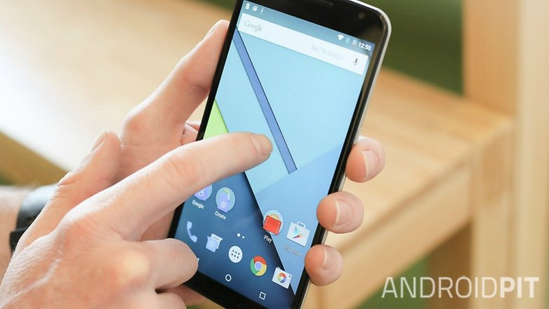 AndroidPIT Nexus 6 Android 5 1 Lollipop double tap to wake