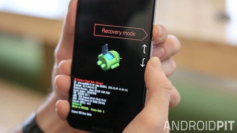 AndroidPIT Nexus 6 Fastboot recovery