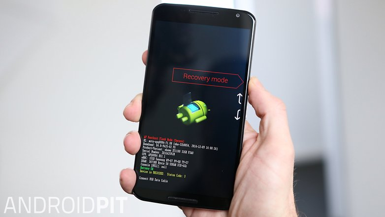 AndroidPIT Nexus 6 Recovery Mode