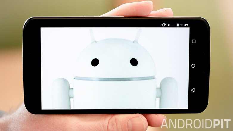 AndroidPIT Nexus 6 clean white android