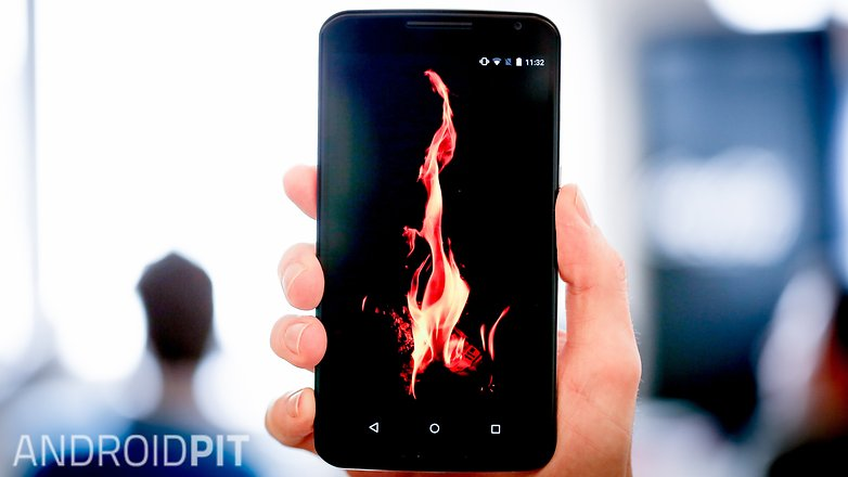 AndroidPIT Nexus 6 flame fire