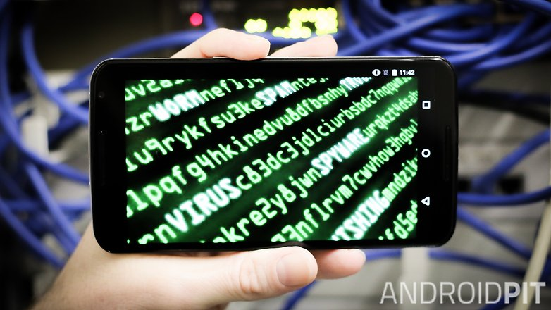 AndroidPIT Nexus 6 security malware