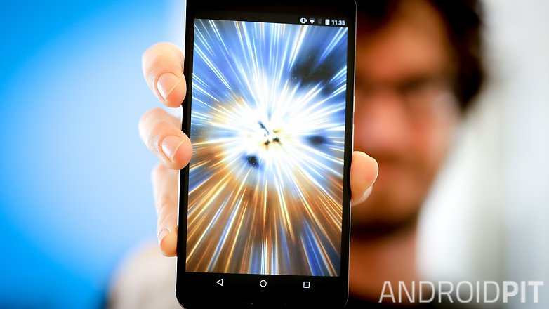 AndroidPIT Nexus 6 warp speed hyperdrive