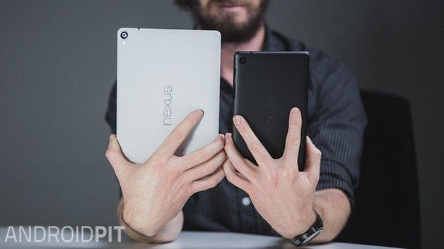 AndroidPIT Nexus 9 Nexus 7 2013 back size 2