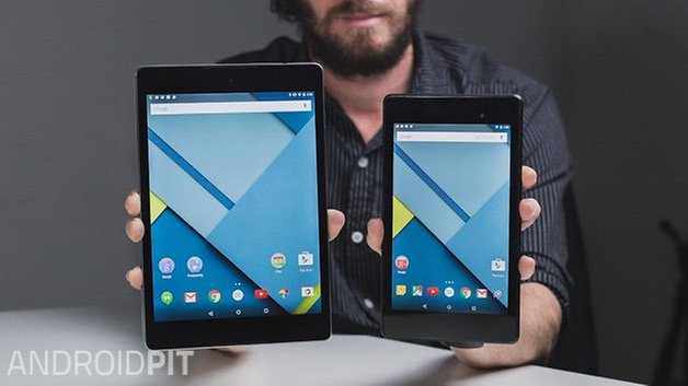 AndroidPIT Nexus 9 Nexus 7 2013 display