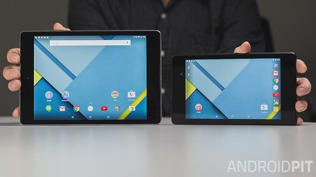 AndroidPIT Nexus 9 Nexus 7 2013 landscape