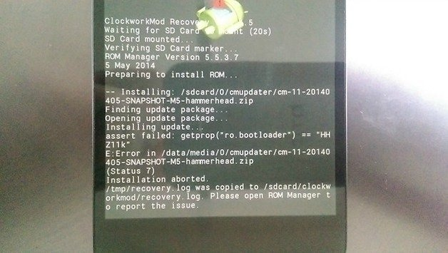 How to update Nexus 5 bootloader and radio | AndroidPIT
