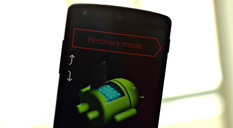 AndroidPIT Nexus5 Fastboot Recovery