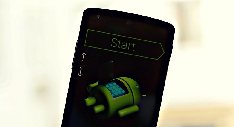 AndroidPIT Nexus5 Fastboot Start
