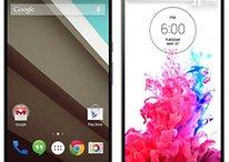Nexus 6 vs LG G3 : bataille des meilleurs smartphones de l'année