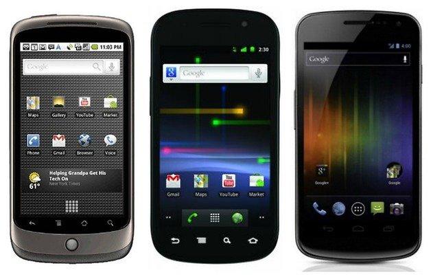 AndroidPIT NexusOne NexusS GalaxyNexus