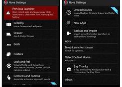 AndroidPIT Nova Launcher Beta Settings