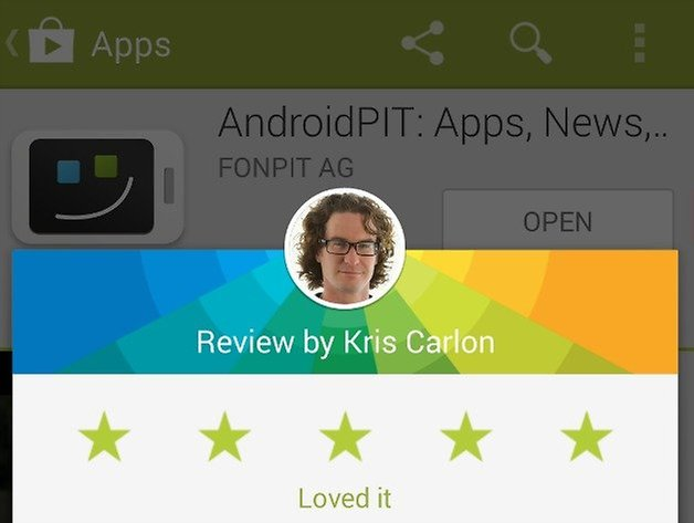AndroidPIT Play Store App Review