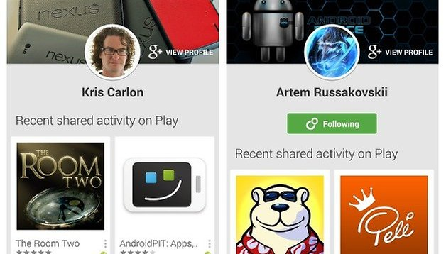 Spy on your friends' app habits in Google Play