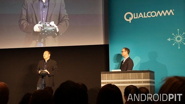 AndroidPIT Qualcomm Derek Aberle Peter Chou HTC