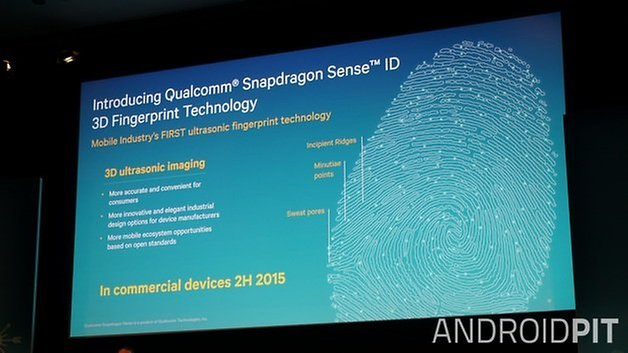 AndroidPIT Qualcomm Sense ID 3D fingerprint scanning