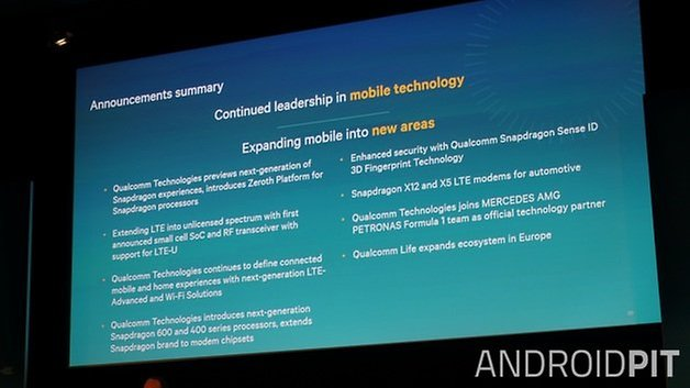 AndroidPIT Qualcomm press conference summary MWC 2015