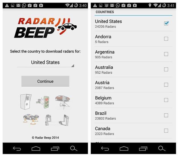 AndroidPIT Radar Beep 1