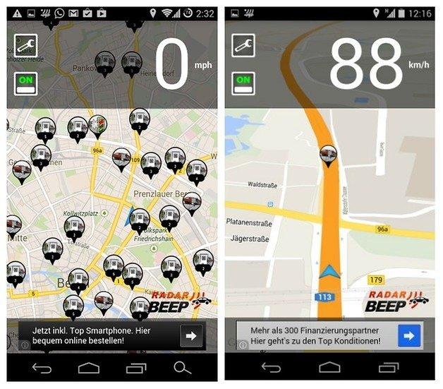 AndroidPIT Radar Beep 2