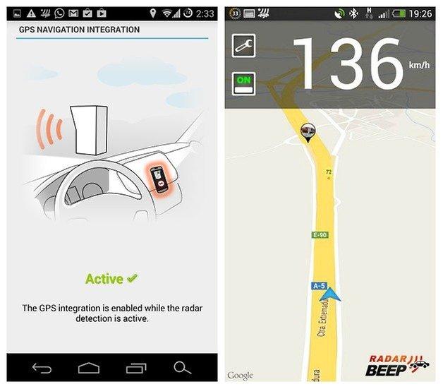 AndroidPIT Radar Beep 3