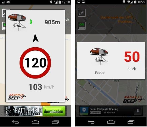 AndroidPIT Radar Beep 4