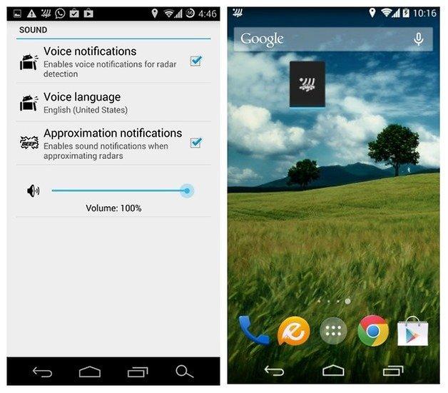 AndroidPIT Radar Beep 5