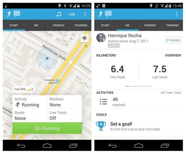 AndroidPIT Runkeeper 1