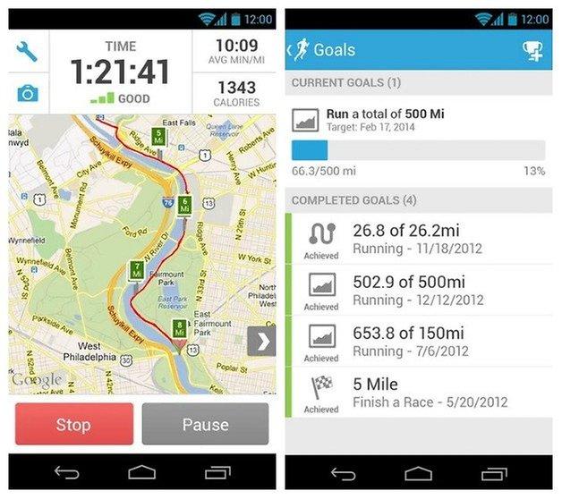 AndroidPIT Runkeeper 6