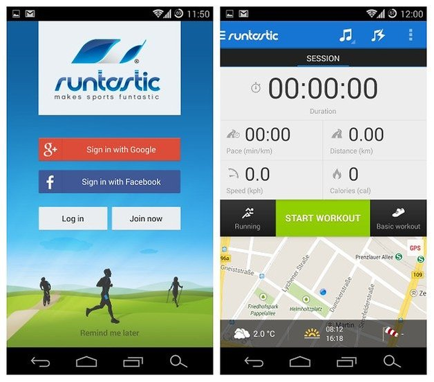 AndroidPIT Runtastic Pro 1