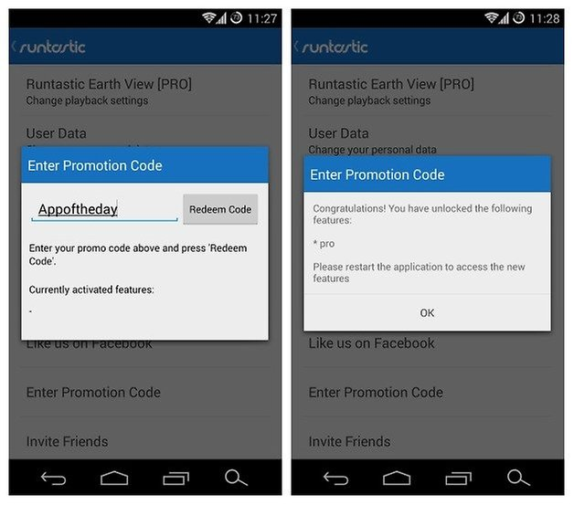 how to use runtastic app