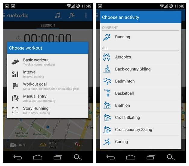 AndroidPIT Runtastic Pro 4