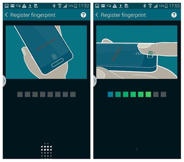 AndroidPIT S5 Finger Scanner 4