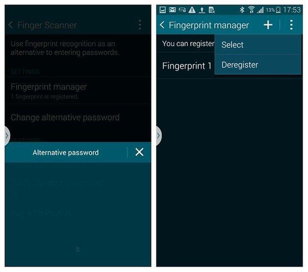 AndroidPIT S5 Finger Scanner 5