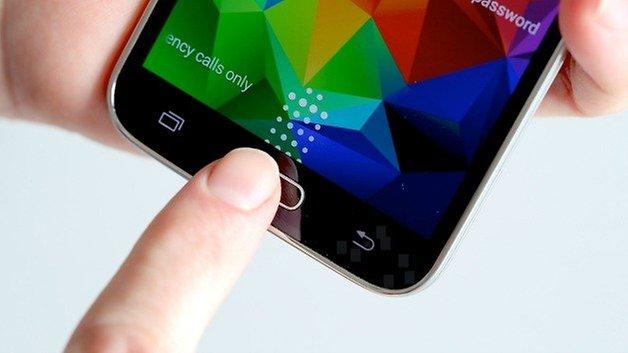 AndroidPIT S5 Finger Scanner